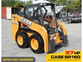 CASE #2132 CASE SR160 TURBO SKID STEER LOADER [57 HP] [UNUSED ONLY 7 HOURS] [MACHETC] SR160