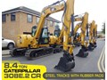 CATERPILLAR #308EINC01 308E2.CR 8.4 TON CAT 308.E2 STEEL TRACKS EXCAVATOR FITTED WITH RUBBER PADS [UNUSED 3.1 HRS] [MACHEXC] 308E2 CR