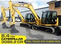 CATERPILLAR #308EINC05 308E2.CR 8.4 TON CAT 308.E2 STEEL TRACKS EXCAVATOR FITTED WITH RUBBER PADS [UNUSED 8.8 HRS] [MACHEXC] 308E2 CR