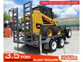 INTERSTATE TRAILERS 3.5 TON PLANT TRAILER + CATERPILLAR 216B.3 3.5 TON PLANT TRAILER + CATERPILLAR 216B.3 CAT 216.B3 SKID STEER LOADER [MCOMBO] [ATTRAIL]