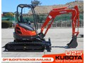 KUBOTA U25 2.5Ton U25 Mini Excavator [UNUSED 4.3 hrs] [MACHEXC] #2182