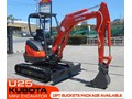 KUBOTA U25 U25 2.5Ton Mini Excavator [UNUSED 3.4 hrs] [MACHEXC] #2184