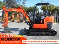 KUBOTA U35 ZAPII U35-ZAPII 3.2 TON MINI EXCAVATOR [UNUSED 6.9 HRS] [MACHKUBO] #2178