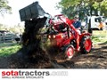 KUBOTA L2201DT TRACTOR WITH 4 IN 1 FEL 25HP