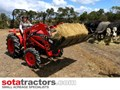 KUBOTA L1-24DT TRACTOR WITH 4 IN 1 FEL 28HP