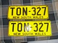 NUMBER PLATES NSW RARE PLATES