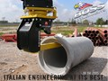 BOSS ATTACHMENTS SPEEDY PIPE - IN STOCK 12T-50T EXCAVATOR PIPE LIFTERS