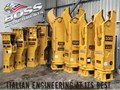 BOSS ATTACHMENTS OSA SH SERIES ROTATING DEMOLITION SHEARS SH Series