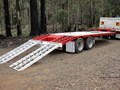BORG ENGINEERING TANDEM TAG MACHINERY TRAILER