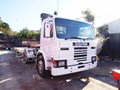 SCANIA P82M Prime mover Truck with Low Loader - 434,408 KM [MACHTRUCK]
