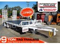 INTERSTATE TRAILERS 9000KG ATM Heavy Duty 9 Ton Tag Trailer White ATTAG