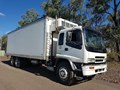 2002 ISUZU FVL 270 HP , AIRBAG SUSPENSION WITH ANTEO TAILGATE LOADER