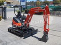 KUBOTA U25 2.5 Ton MINI Excavator [UNUSED 3.3hrs] [MACHEXC]