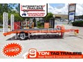 2017 INTERSTATE TRAILERS 9 TON Heavy Duty 9000kg Tag Trailer Orange ATTAG