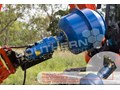 AUGER TORQUE 180L CEMENT MIXER BOWL 75mm Square Auger Shaft to suit Excavators [ATTAUG]