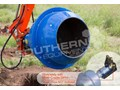 AUGER TORQUE 180L CEMENT MIXER BOWL 65mm Round Auger Shaft to suit Excavators [ATTAUG]