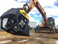 BOSS BRS-200S Excavator/Loader Rotary Screening Buckets