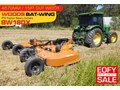2017 WOODS EQUIPMENT BW180X 15 foot Bat-Wing PTO Tractor Rotary Cutters [ATTPTO]