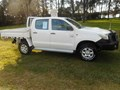 2011 TOYOTA HILUX WORKMATE 4x4