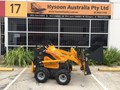 HYSOON MINI DIGGER MINI LOADER 23HP B&S TRIPLE PUMP