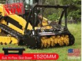 "2017 DIGGA 1520MM 60"" Mulcher attachment suit Hi-flow skid steer loader"