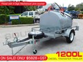 2017 INTERSTATE TRAILERS 1200L DIESEL Fuel Trailer 12V PIUSI pump with Mechanical Litre counter