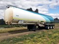 2007 TIEMAN TRIAXLE 45000 LITRE ROAD TRAIN LEAD FUEL TANKER