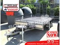 2017 INTERSTATE TRAILERS 3.5 TON Moffett Trailer - Custom build Plant Trailers suit Tailgater Forklifts