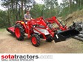 KUBOTA L2202DT TRACTOR WITH 4 IN 1 FEL 26HP