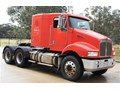 2007 KENWORTH T350 CAT C12, AUTO WITH HYDRAULICS