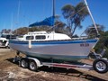1983 BARONESS 22 TRAILER SAILER