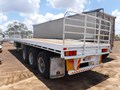 1984 FRUEHAUF 40FT FLAT TOP TRAILER