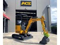 2019 ACE MACHINERY AE22K - ZERO SWING - LOAD SENSING HYDRAULICS - Q/HITCH - HAMMER & AUGER PIPING