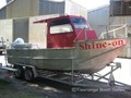2000 CUSTOM COMMERCIAL FISHING Alloy 25' Fishing Boat