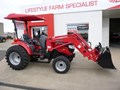 2019 MAHINDRA 1538 TRACTOR + LOADER + 4 IN 1 BUCKET (PACKAGE)