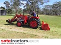 KUBOTA L2402DT TRACTOR WITH 4 IN 1 FEL 28HP