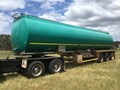 2008 TIEMAN ROAD TRAIN LEAD TRIAXLE ALUMINIUM FUEL TANKER