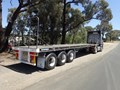 1991 FREIGHTER SEMI 40ft Tri Axle Flat Top
