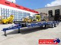 2019 INTERSTATE TRAILERS ELITE TANDEM AXLE Tag Trailer Custom Blue & Black