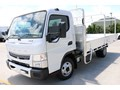 2018 FUSO CANTER ALLOY TRAY