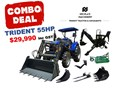 2019 TRIDENT 55HP EOFY COMBO DEAL (FEL + BACKHOE + SLASHER + FORKS) 554