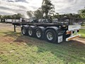 2016 MAXITRANS QUAD AXLE SKEL