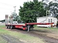 2012 MAXITRANS 45FT DROP DECK EXTENDABLE WITH RAMPS