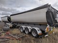 2001 AZMEB SIDE TIPPER B Double Roadtrain Set of Side Tipping Trailers