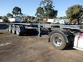2005 MAXITRANS SKELETAL TRAILER ST3