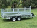 OZZI TRAILERS 14X7 FLAT TOP TIPPER TRAILER