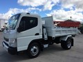 2018 FUSO CANTER TIPPER