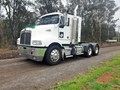 2007 KENWORTH T350 IT BUNK , 410HP , 18 SPEED MANUAL , HYDRAULICS