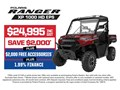 2020 POLARIS RANGER XP 1000 HD EPS