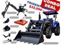 2020 TRIDENT 55HP COMBO DEAL (FEL + BACKHOE + SLASHER + FORKS) 554